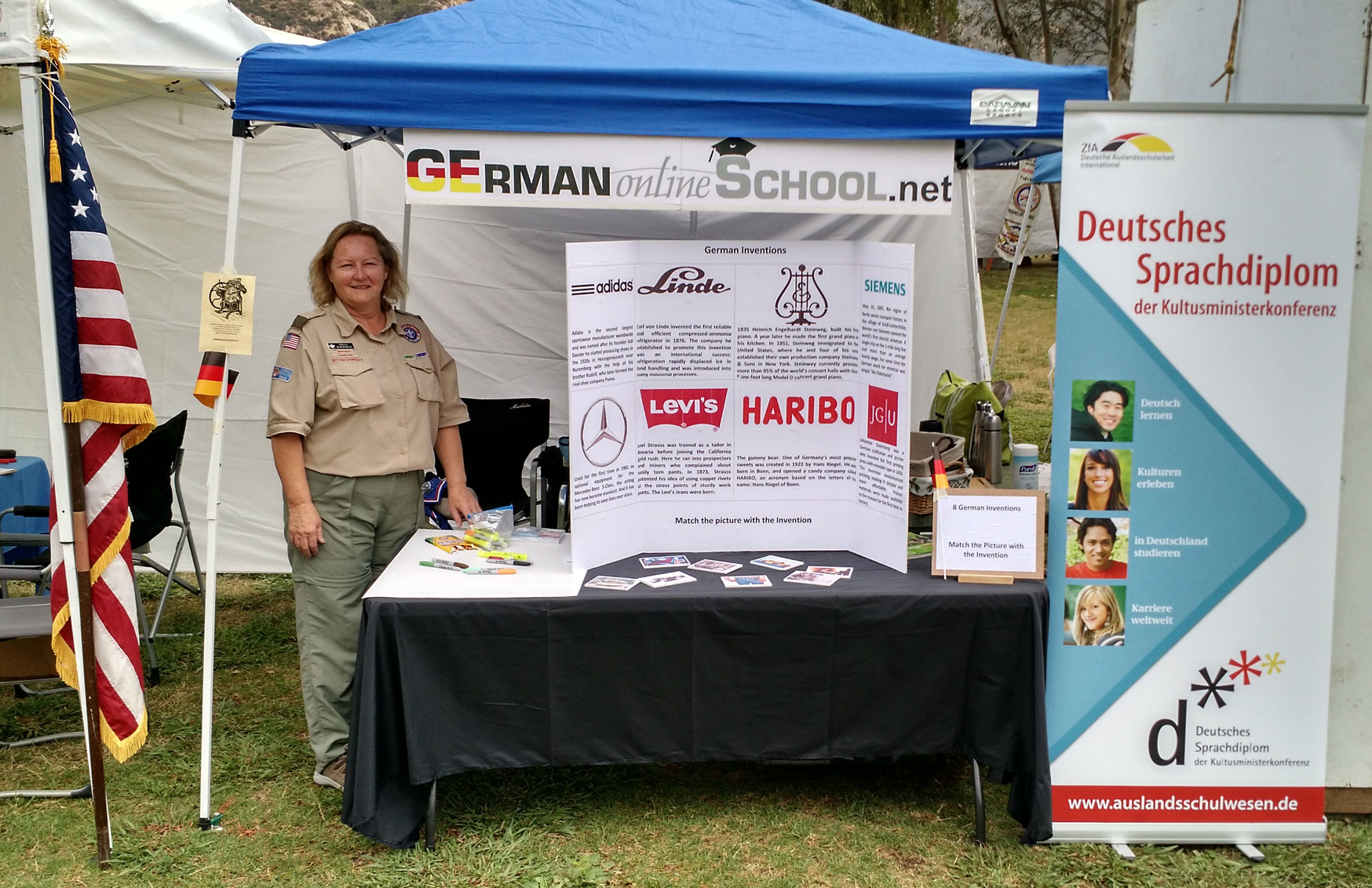 GERMAN online SCHOOL @ Scout-O-Rama 2015