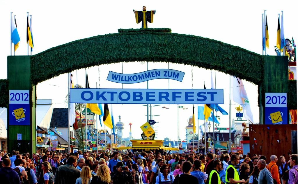 Haupteingang Oktoberfest